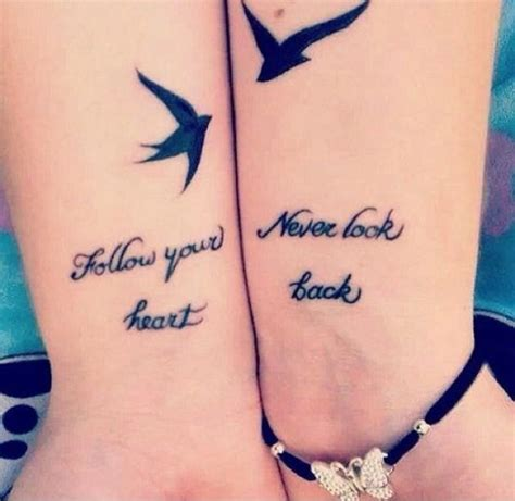 best friend heart tattoos 55 best friend tattoos amazing ideas