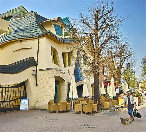 crooked house in sopot poland is like a children s book crooked house sopot poland photo gallery world