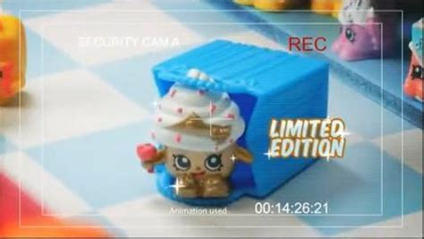 shopkins limited edition cupcake from moose toys