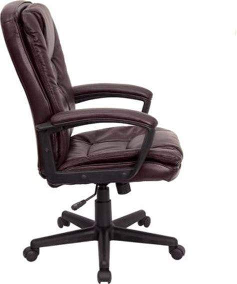 burgundy desk chair burgundy leather executive office chair desk swivel