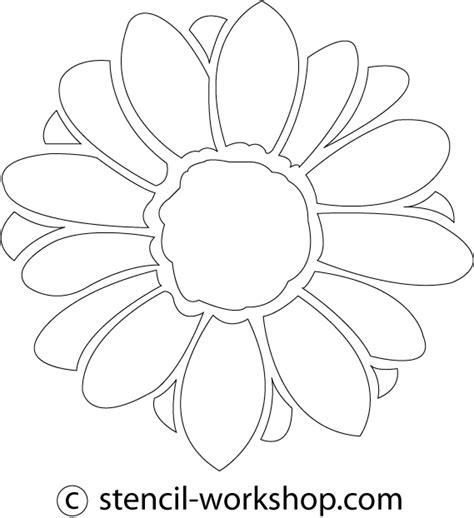 printable daisy stencils http www stencil workshop com stencil flower daisy