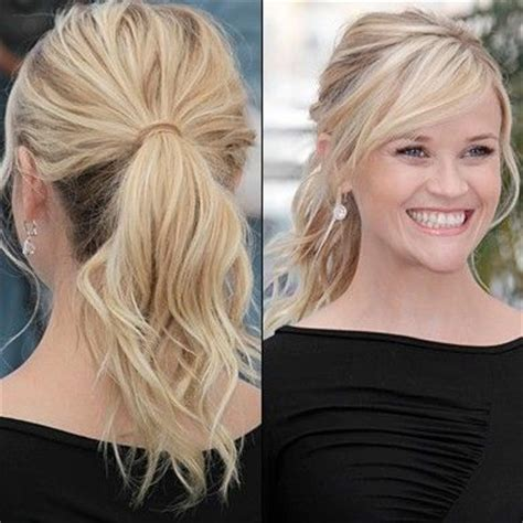 3 fabulous ponytails with bangs pretty designs 25 best ideas about reese witherspoon on pinterest