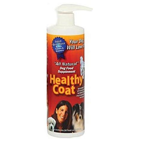 Supplements For Shedding Dogs by Healthy Coat Canine Supplement 1 Pint Reduce Shedding