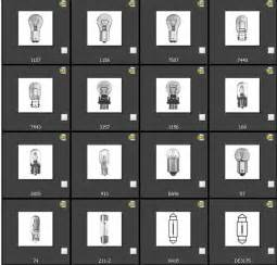Car Light Bulbs Chart Automotive Bulbs Chart 2016 Best Product Reviews