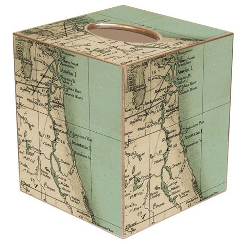 Decoupage Tissue Box - decoupage tissue box cover w northern fl 58 home