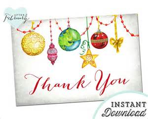 40 christmas thank you card templates free psd eps