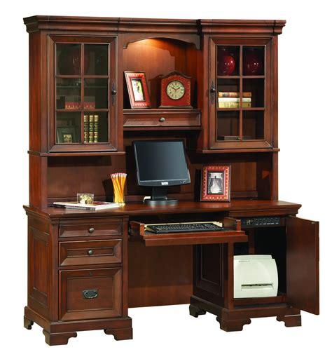 Credenza Desk With Hutch the osona credenza desk with hutch 3261