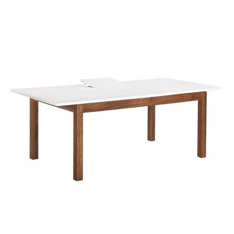 modera butterfly leaf dining table modern dining room tables