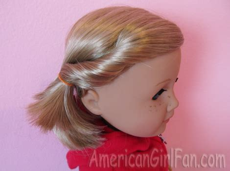 cute hairstyles for kit the american girl doll some fun and easy hairstyles for kit americangirlfan