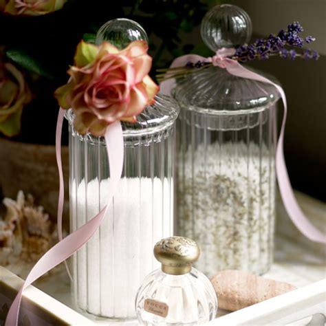 bathroom glass storage jars bathroom storage jars bathroom design ideas image