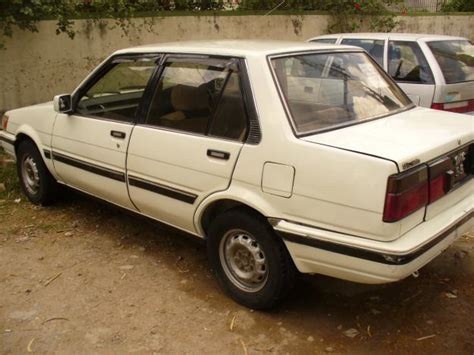 Toyota Corolla 1986 For Sale Toyota Corolla 1986 Model White Color For Sale In