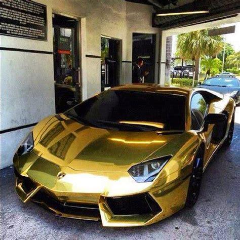 golden fast cars golden lambo aventador the cars i