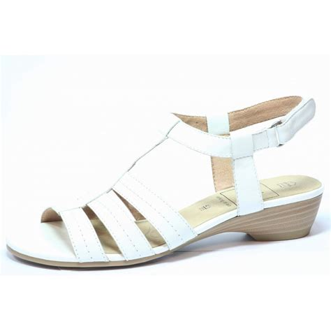 White Sandal caprice nelke sandal white caprice from nicholas thomson uk