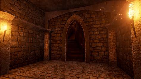 dungeon si鑒e modular dungeon by barinov yuriy in environments ue4