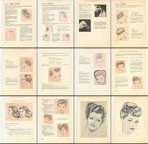 1940s hairstyles book pdf vintage on the web january 2016 vintage gal