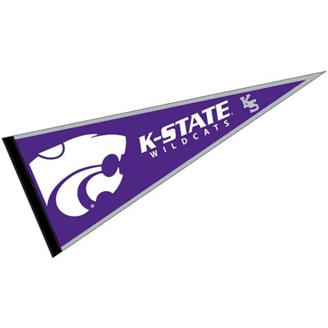 Kansas State Mba Program by Kansas State Wildcats Logo Pennant And Logo Pennants For