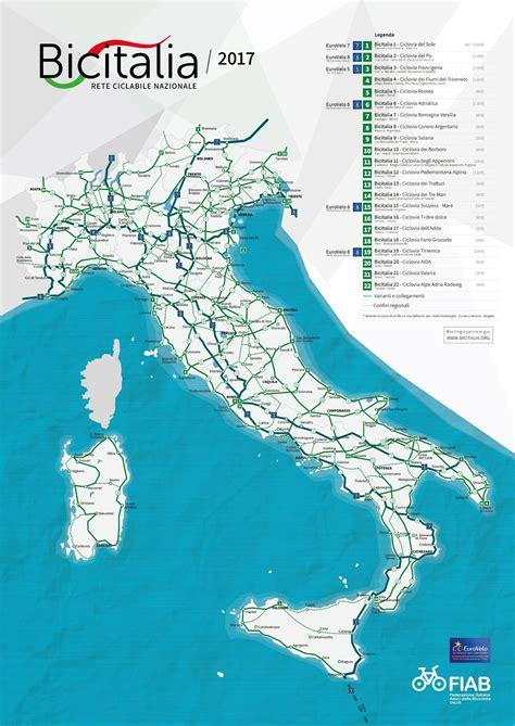 bic nazionale lavoro la rete ciclabile nazionale bicitalia