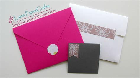 diy sobres decorados luisa papercrafts diy sobres hechos a mano