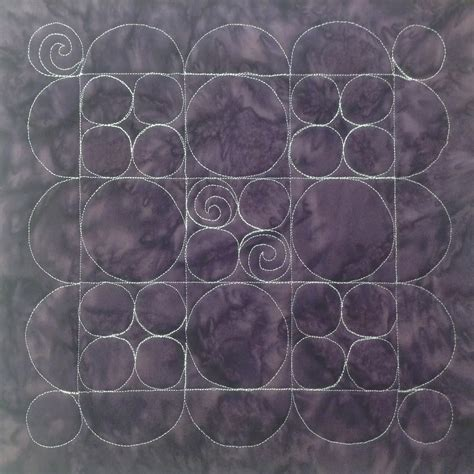 free motion quilting swirls and circles quilt addicts the free motion quilting project 7 quilt circles in a 9