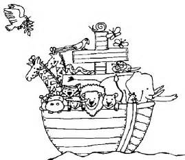 noah s ark coloring page free coloring pages of noah ark children