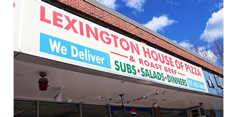 lexington house of pizza lexington house of pizza takeout restaurant pizza subs lunch dinner