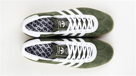 New Sepatu Vans Skool Green Gum Premium Quality Waffle Dt Kece the adidas originals archive athen arrives in forest green the drop date