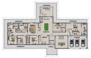 farmhouse floor plans australia acreage house design homestead colonial large 4 bedroom