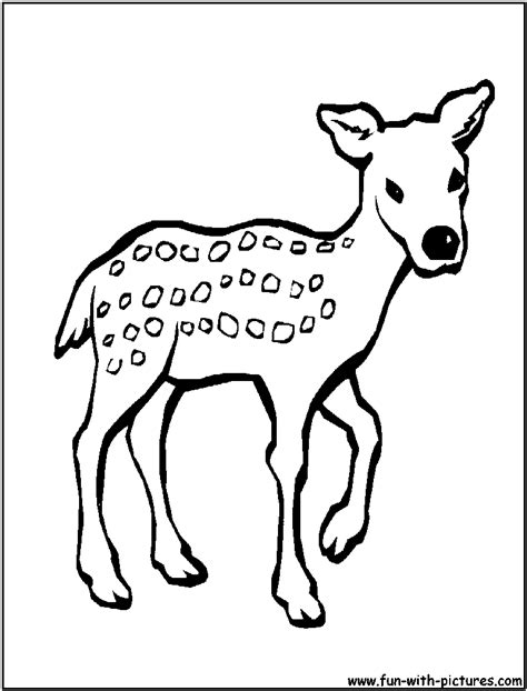 Free Coloring Pages Of Fawn Pixie Hollow Fawn Coloring Pages