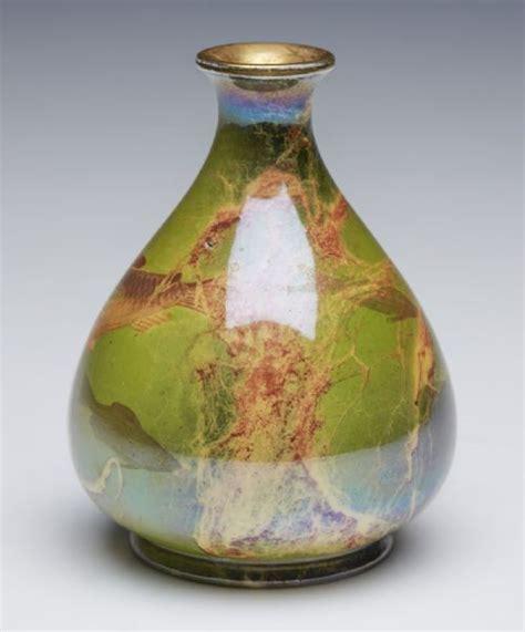 antique wilkinson oriflamme fish vase butler c 1900
