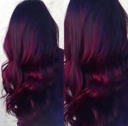 velvet violet hair dye america 25 best red balayage ideas on pinterest dark red