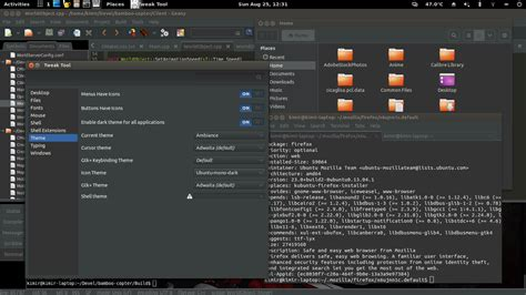 firefox animated themes not working gnome firefox not affected by gtk theme ask ubuntu