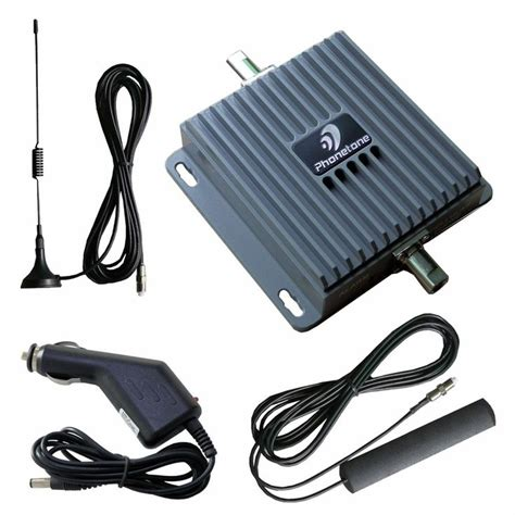 850 1900mhz dual band cell phone signal booster repeater lifier antenna kit mobile signal