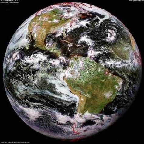 imagenes satelitales goes 8 mapa satelital de am 233 rica
