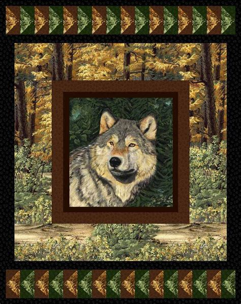 Wildlife Quilt by 271 Best Images About Eagle Wolves Deer And Nature Quilts