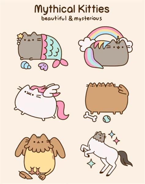 imagenes de gatos unicornios mythical kitties beautiful mysterious pusheen