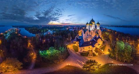 1637 the volga ring of books golden ring of russia yaroslavl 360 176 aerial panoramas