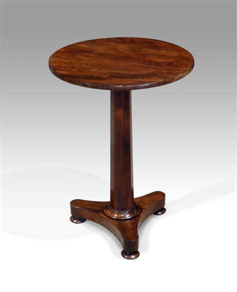 circle table l antique table l table occasional table tripod