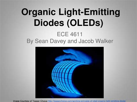 what is an organic light emitting diode ppt organic light emitting diodes oleds powerpoint presentation id 3054620