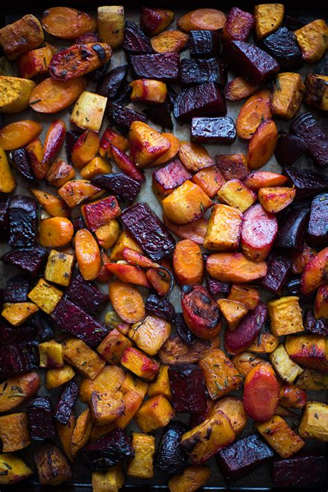 baked root vegetables roasted root vegetables slim palate