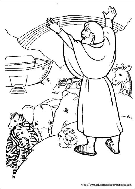Bible Stories Coloring Pages - Educational Fun Kids