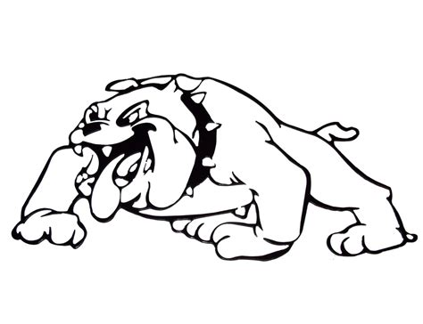 coloring pages bulldogs printable bulldog coloring pages