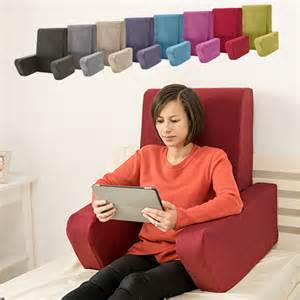 support pillow for reading in bed marine una bed rest support pillow reading cushion mobility back support arm ebay