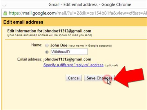 Gmail Email Search Name How To Change Email Account On Gmail