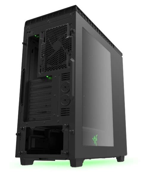 Nzxt H440 By Line Computer by Nzxt H440 Razer Special Edition Mid Tower Computer