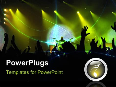 powerplugs templates for powerpoint download powerpoint template party in night club with flashing