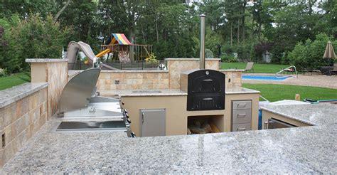 recent installation magic outdoor kitchen