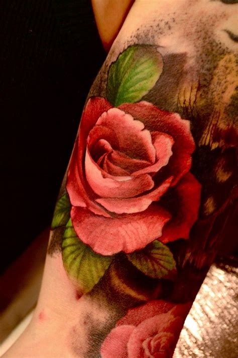 fire rose tattoo 1000 ideas about tattoos on