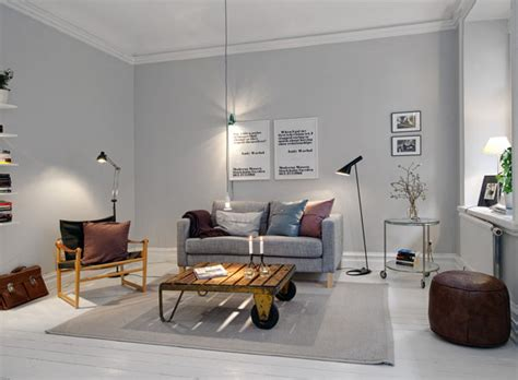 white and grey wall colors for scandinavian living room 35 light and stylish scandinavian living room designs