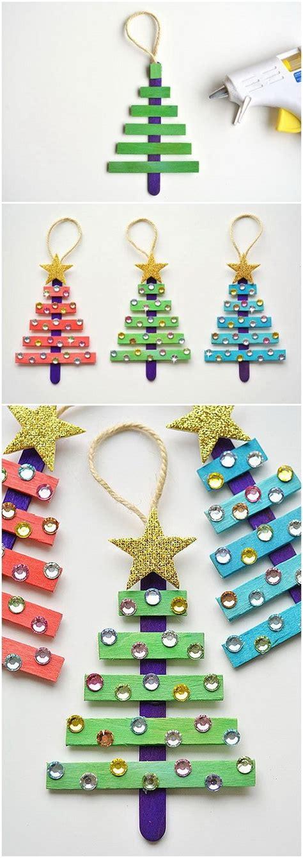 icestick crismax tree 30 creative diy ornament ideas for creative juice