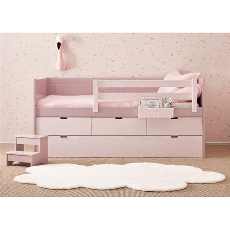 lit avec tiroir lit et 3 tiroirs de rangement bahia block